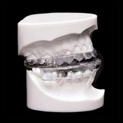 MicrO2-2 oral appliance side view